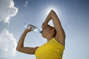 Exercise-Drink-water